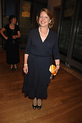 PENNY GUMMER at a gala dinner for the Theatre Royal Bury St.Edmunds to celebrate the near completion of the restoration of the Grade 1 listed theatre, held at the Royal Academy, Piccadilly, London on 9th July 2007.<br />