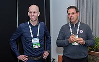 BUSSUM - Sander van Duijn en Tom van Haaren (PGA)   Nationaal Golf Congres & Beurs. COPYRIGHT KOEN SUYK