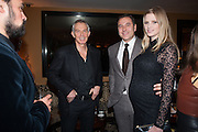 EVGENY LEBEDEV; TONY BLAIR; DAVID WALLIAMS; LARA STONE, Chinese New Year dinner given by Sir David Tang. China Tang. Park Lane. London. 4 February 2013.