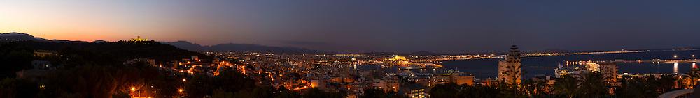 Large Panorama of Palma, Majorca, Spain