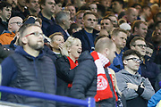 Middlesbrough fans  during the EFL Sky Bet Championship match between Sheffield Wednesday and Middlesbrough at Hillsborough, Sheffield, England on 19 October 2018.