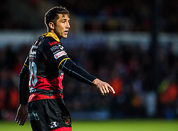 Dragons' Gavin Henson in action <br /> <br />  - Mandatory by-line: Craig Thomas/JMP - 15/09/2017 - RUGBY - Rodney Parade - Newport, Gwent, Wales - Newport Gwent Dragons v Connacht Rugby - Guinness Pro 14
