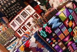 Market in Machu Picchu Pueblo / Aguas Calientes, Peru<br />