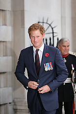 OCT 29 2014 Prince Harry at St.Martin-in-the-Fileds church