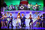 April 7, 2016, East Haddam, CT<br /> Mara Lavitt -- Special to the Hartford Courant<br /> The run-through of  the classic Cole Porter musical &quot;Anything Goes&quot; being performed at Goodspeed Musicals in East Haddam. Rashidra Scott as Reno Sweeney with the ensemble.