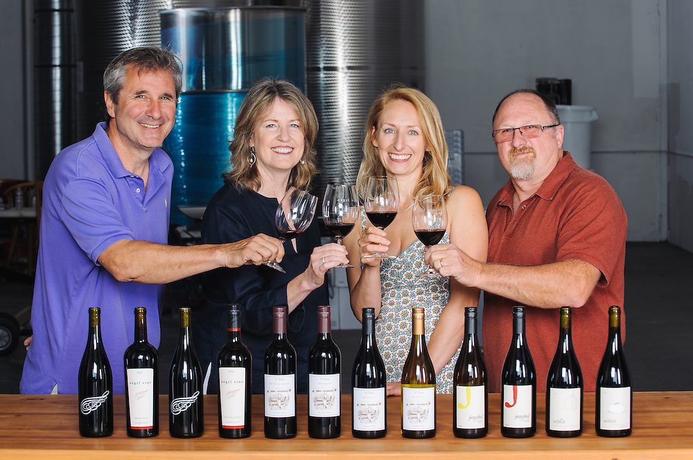Wine Makers of Angel Vine, D'Anu Wines and Willful Wine for Urban Wine Press