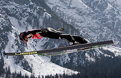Jernej Damjan of Slovenia competes during Flying Hill Individual Qualifications at 1st day of FIS Ski Flying World Championsghips Planica 2010, on March 18, 2010, Planica, Slovenia.  (Photo by Vid Ponikvar / Sportida)