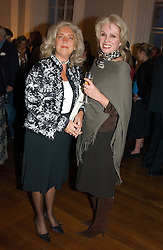 Left to right, LUCY HEMMINGS widow of David Hemmings and actress JOANNA LUMLEY at a party to celebrate the publication of 'Blow Up' - a biography of the late actor David Hemmimgs, held at the Institute of Contemporary Arts, The Mall, London on 27th September 2004.<br /><br />NON EXCLUSIVE - WORLD RIGHTS
