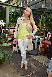 Noelle Reno at The Ivy Chelsea Garden Summer Party, Kings Road, London, England. 14 May 2018.