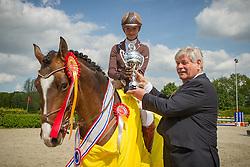 Van de Pol Melanie (NED) - Mr. Baco<br /> Finale KNHS-Hartog Lucerne Trophy 2011/2012<br /> © Dirk Caremans