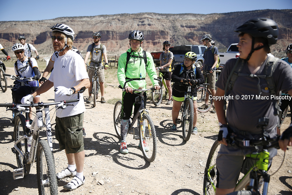 SHOT 5/20/17 10:50:55 AM - Emery County is a county located in the U.S. state of Utah. As of the 2010 census, the population of the entire county was about 11,000. Includes images of mountain biking, agriculture, geography and Goblin Valley State Park. (Photo by Marc Piscotty / © 2017)