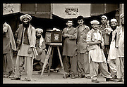 Street photographers and their subjects in Peshawar, Pakistan 1982