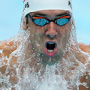 GOLD COAST, AUSTRALIA - AUGUST 24:  Michael Phelps of the USA swims the Men's 200m IM heats during day four of the 2014 Pan Pacific Championships at Gold Coast Aquatics on August 24, 2014 in Gold Coast, Australia.  (Photo by Chris Hyde/Getty Images) *** Local Caption *** Michael Phelps