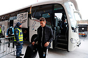 OSTERSUND, SWEDEN - MARCH 17: Markus Rosenberg of Malmo FF arrives prior to the Swedish Cup Semifinal between Ostersunds FK and Malmo FF at Jamtkraft Arena on March 17, 2018 in Ostersund, Sweden. Photo: Nils Petter Nilsson/Ombrello ***BETALBILD***