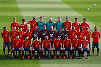 Spain national football players and technical staff pose with their new jerseys at the 'Ciudad del Futbol' ahead of their World Cup 2018 friendly football match against Costa Rica. November 8,2017.(ALTERPHOTOS/Acero)