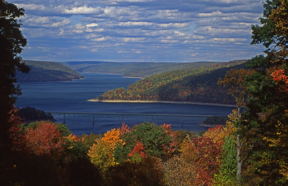 Allegheny National Forest, Allegheny Reservoir, Fall Foliage, Northcentral Pennsylvania