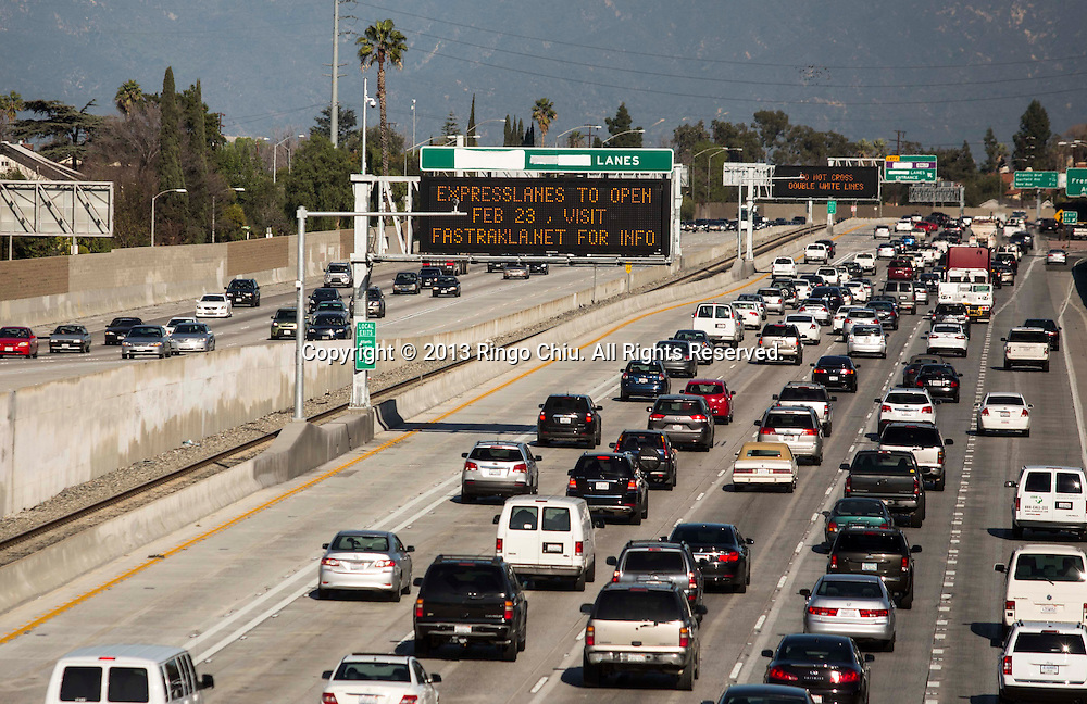 Toll lanes to begin on 10 Freeway on Feb  23 | PHOTOFORMULA com | by