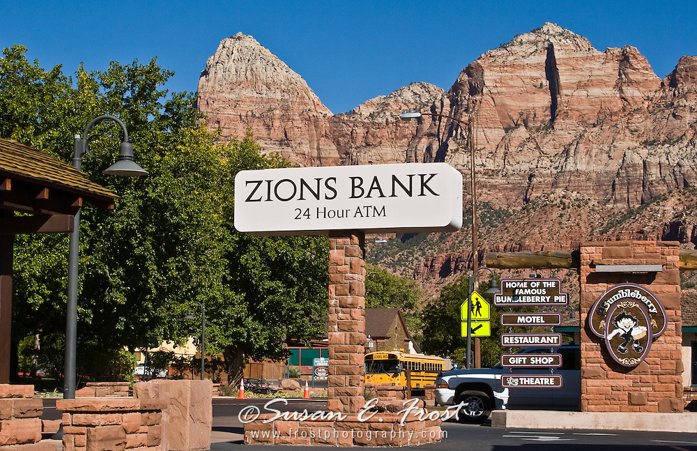 Zions Bank, Zion National Park