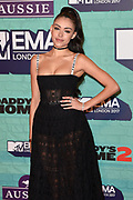 2017 MTV EMA -  MTV Europe Music Awards - RED CARPET at the The SSE Arena in Wembley, London UK.<br /> <br /> On the photo:  Madison Beer