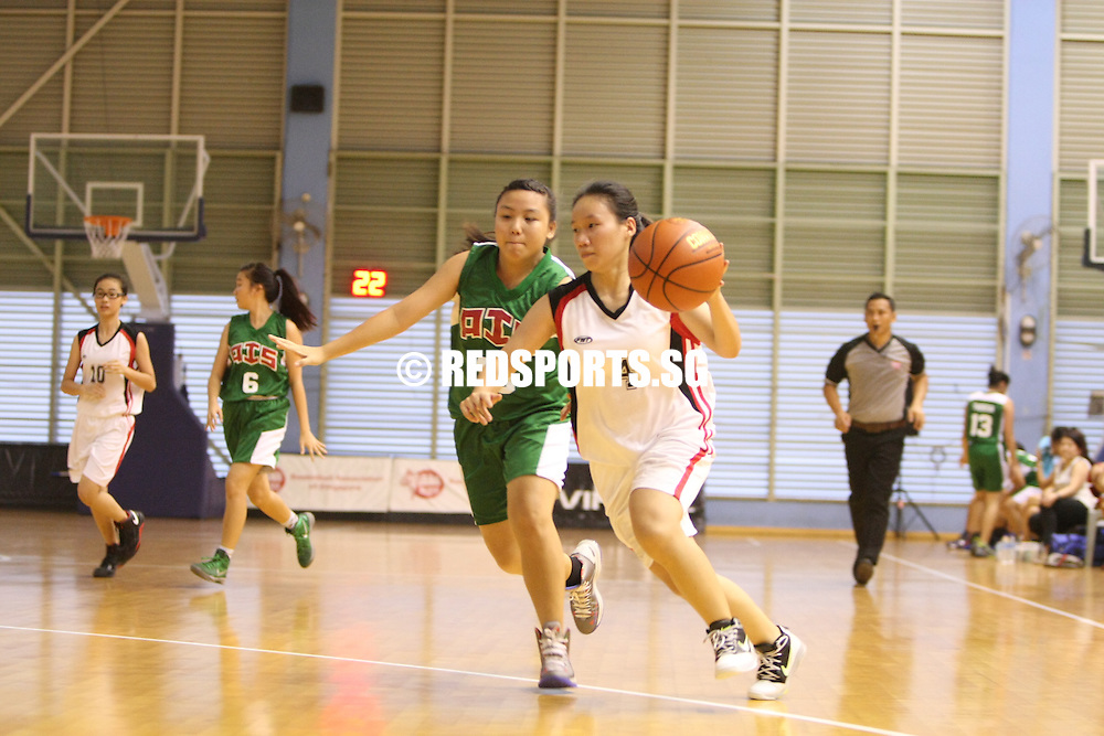 Singapore Basketball Centre, Wednesday, February 20, 2013 &ndash; It was a comfortable 40-27 win over Yishun Secondary for Ahmad Ibrahim Secondary in Round 2 of the North Zone B Division Girls&rsquo; Basketball Championship.<br /> <br /> Story: http://redsports.sg/2013/02/22/north-zone-b-div-bball-girls-ahmad-ibrahim-yishun/