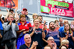Fans after Bristol Flyers win 92-72 - Rogan/JMP - 11/10/2019 - BASKETBALL - SGS Wise Arena - Bristol, England - Bristol Flyers v Plymouth Raiders - BBL Cup.