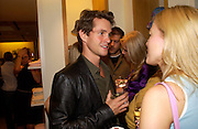 Hugh Dancy, Burberry party to launch collection in  support of Breakthrough Breast Cancer. New Bond St. shop. Londddon. 5 October 22004. ONE TIME USE ONLY - DO NOT ARCHIVE  © Copyright Photograph by Dafydd Jones 66 Stockwell Park Rd. London SW9 0DA Tel 020 7733 0108 www.dafjones.com