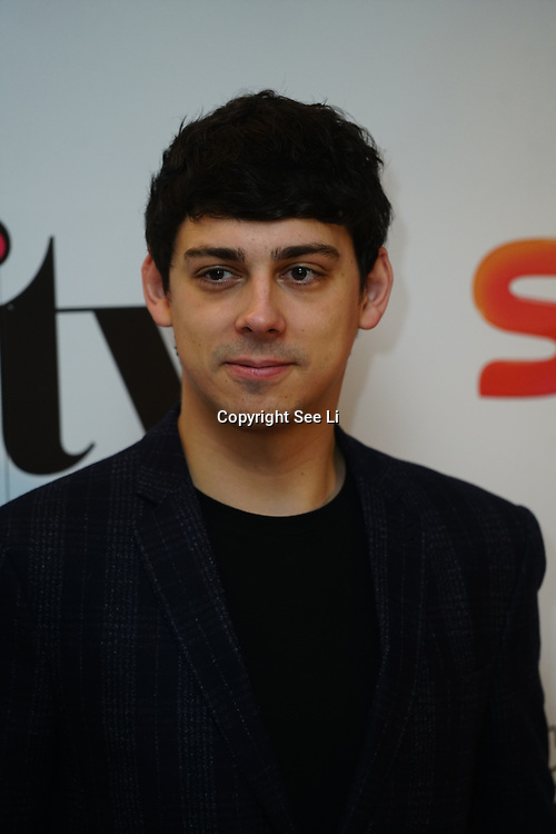 London Hilton, Park lane, England, UK. 1st December 2017. Matt Richardson attends the Sky Women in Film and TV Awards.
