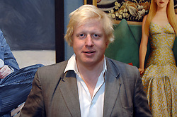 BORIS JOHNSON MP at the opening of the Royal Society Of Portrait Painters annual exhibition 2007 held at The Mall Galleries, The Mall, London on 25th April 2007.<br /><br />NON EXCLUSIVE - WORLD RIGHTS