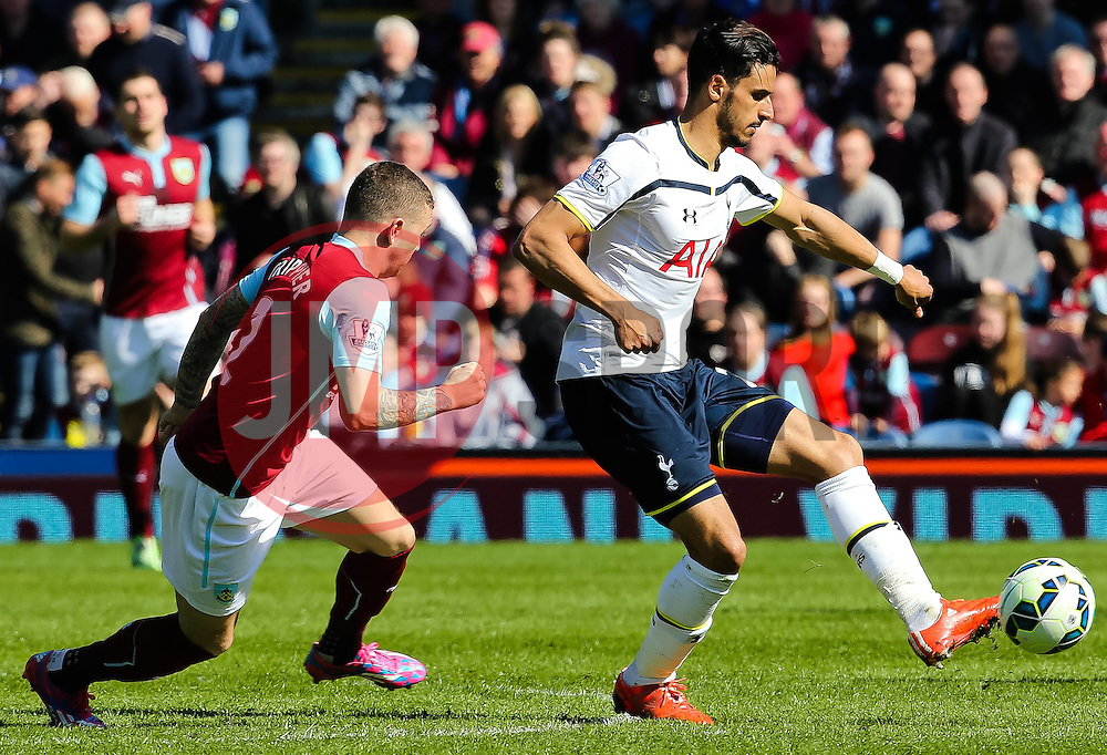 Tottenham's Nacer Chadli in action - Photo mandatory by-line: Matt McNulty/JMP - Mobile: 07966 386802 - 05/04/2015 - SPORT - Football - Burnley - Turf Moor - Burnley v Tottenham Hotspur - Barclays Premier League