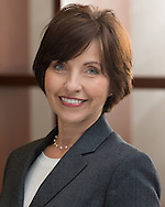 portrait of female executive with AT&T Mobility