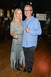 HARRY & LUCY ENFIELD at the Bedales Art & Design Party hosted by David Linley at Annabel's, 44 Berkeley Square, London on 30th June 2015.