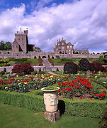 Drummond Castle nr Crief, Perthshire.