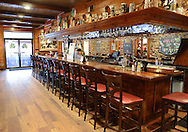 The bar at Plumsteadville Inn is seen Thursday September 17, 2015 in Pipersville, Pennsylvania.  (Photo by William Thomas Cain)