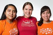 Mentor Nicole, Mentees Sharon, Angela