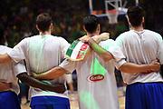team italia<br /> Nazionale Italiana Maschile Senior<br /> Eurobasket 2017 - Group Phase<br /> Lituania Italia Lithuania Italy<br /> FIP 2017<br /> Tel Aviv, 03/09/2017<br /> Foto M.Ceretti / Ciamillo - Castoria