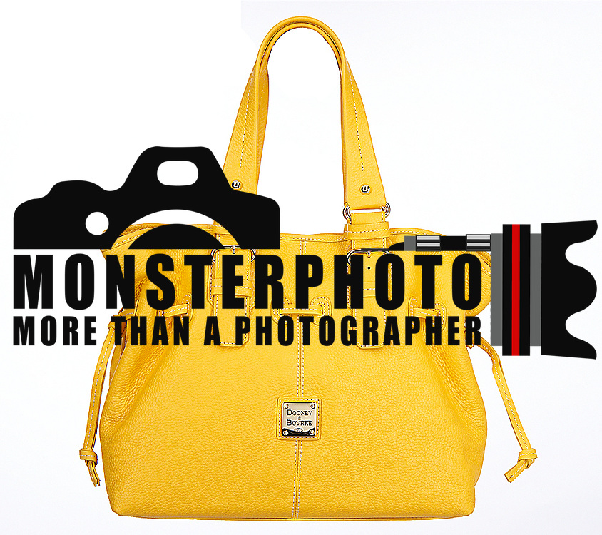 Yellow Dooney & Bourke handbag
