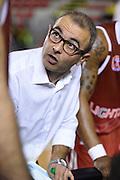 Ugo Ducarello<br /> Unicusano Roma - Lighthouse Trapani<br /> Campionato Basket LNP 2016/2017<br /> Roma 08/12/2016<br /> Foto Ciamillo-Castoria