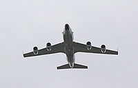 Rivet Joint RC-135W, RAF100 Parade and Flypast, The Mall & Buckingham Palace, London, UK, 10 July 2018, Photo by Richard Goldschmidt, Royal Air Force Centenary parade and flypast of RAF aircraft over London.
