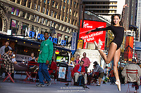 Times Square Ballerina Sabrina Imamura New York City. Dance As Art- The New York Photography Project.