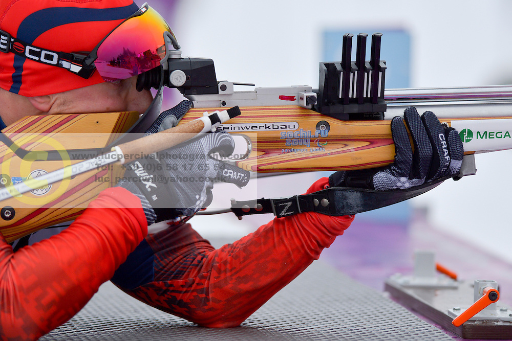 GONCHAROV Ivan, Biathlon at the 2014 Sochi Winter Paralympic Games, Russia