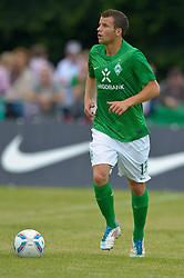 06.07.2011, An der Mühle, Norderney, GER, Werder Bremen vs SV Meppen,  Friendly Match  1. FBL  im Bild Lukas Schmitz (Bremen #13)  // durind the friendly Match between Werder Bremen vs SV Meppen, at the trainingscamp on the Mihle 2011/07/04  EXPA Pictures © 2011, PhotoCredit: EXPA/ nph/  Kokenge       ****** out of GER / CRO  / BEL ******