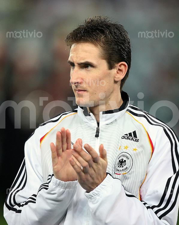 Fussball International Testspiel Italien 4-1 Deutschland Miroslav Klose (GER)