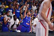 Nicolo Melli<br /> Nazionale Italiana Maschile Senior<br /> Eurobasket 2017 - Group Phase<br /> Georgia Italia Georgia Italy<br /> FIP 2017<br /> Tel Aviv, 06/09/2017<br /> Foto M.Ceretti / Ciamillo - Castoria