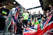 October 23-25, 2015: United States GP 2015: Lewis Hamilton of Mercedes AMG Petronas F1 team wins his third World Drivers Championship.