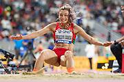 Nastassia Mironchyk-Ivanova (Bulgaria), Long Jump Women - Final, during the 2019 IAAF World Athletics Championships at Khalifa International Stadium, Doha, Qatar on 6 October 2019.