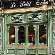 Le Petit Zinc cafe in St-Germain-des-Pres, Paris France<br />