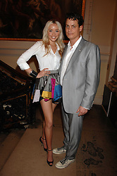 MATTHEW MELLON and NOELLE RENO at the Royal Academy of Arts Summer Exhibition Party at the Royal Academy, Piccadilly, London on 6th June 2007.<br /><br />NON EXCLUSIVE - WORLD RIGHTS
