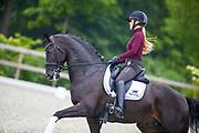 Esmee Donkers - Just Wimphof<br /> 2e WK Selectie Jonge Dressuurpaarden 2019<br /> © DigiShots