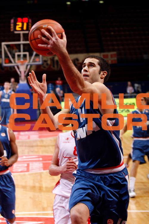 DESCRIZIONE : Milano Eurolega 2007-08 Armani Jeans Milano Cibona Zagabria<br /> GIOCATORE : Vedran Princ<br /> SQUADRA : Cibona Zagabria<br /> EVENTO : Eurolega 2007-2008 <br /> GARA : Armani Jeans Milano Cibona Zagabria<br /> DATA : 09/01/2008 <br /> CATEGORIA : Tiro<br /> SPORT : Pallacanestro <br /> AUTORE : Agenzia Ciamillo-Castoria/G.Cottini