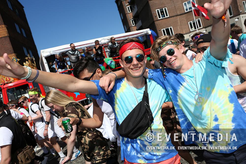 Aalborg Karneval 2017 - Stjerneparaden, lørdag den 27.5.2017 i Aalborg, Danmark. (Allan Jensen/EVENTMEDIA).